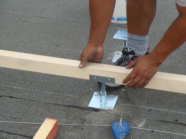 Installazione supporti coperture